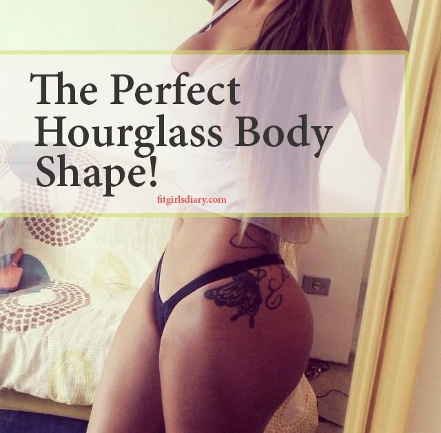 I'll give you a guide on how to get to this hourglass body shape, and can you actually get this type of body, if your genetics don't agree with it!