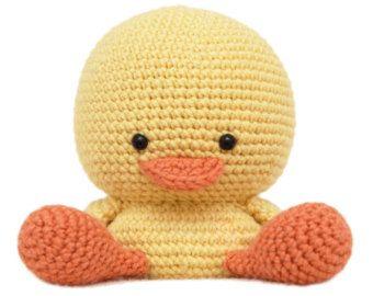 Henry el patrón del Amigurumi de pato