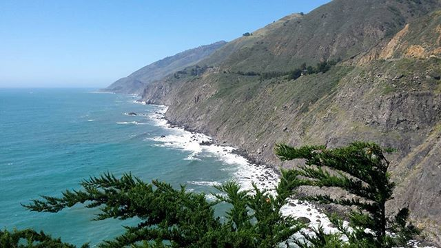 Looking North from #raggedpoint which is as far as you can currently travel up the #pacificcoasthighway due to road closures. Such stunning scenery 😍  #pch #highway1 #bigsur #california #visitcalifornia #visitbigsur #montereylocals - posted by Fi https://www.instagram.com/stanakatefan. See more of Big Sur at http://bigsurlocals.com