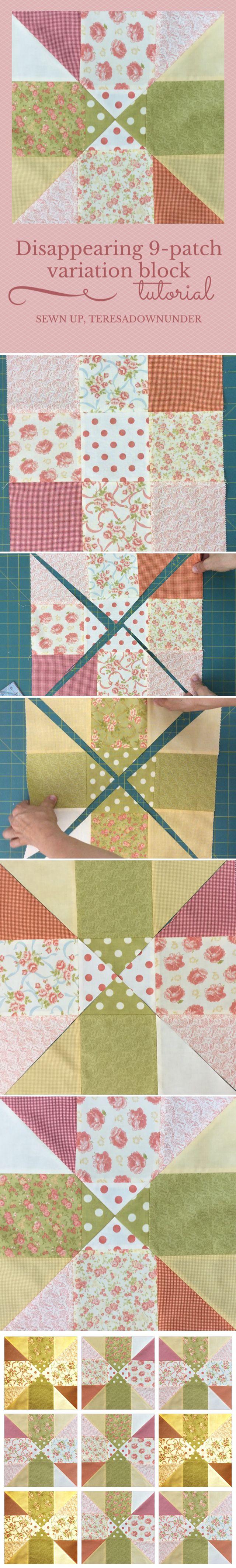 31 best Quilt tutorials images on Pinterest