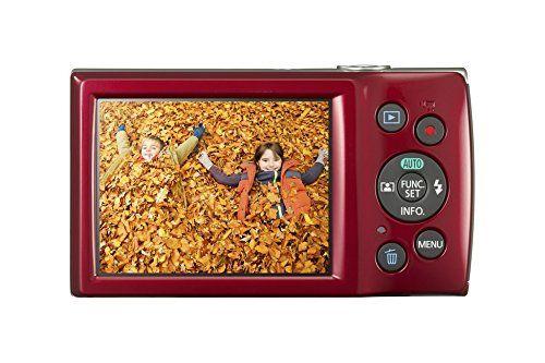Schnäppchen Canon IXUS 175 Kompaktkamera (20 Megapixel 8-fach optischer Zoom 16-fach ZoomPlus 68 cm (27 Zoll) LCD Taschenformat) rot Vergleiche Preise