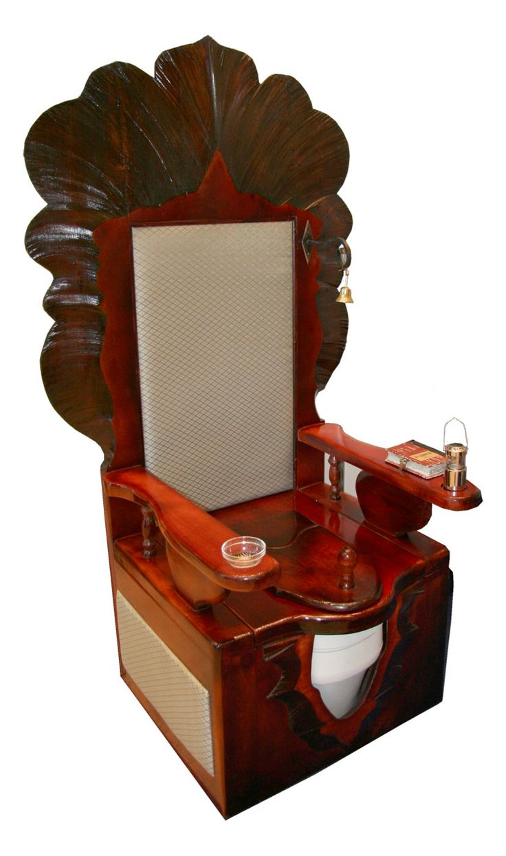 Antique toilet chair - Commode