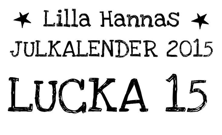 Lilla Hanna i Stora världen: Lucka 15: Ängel av tårtpapper