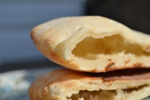 Gluten free pitas and blog...gluten free on a shoestring