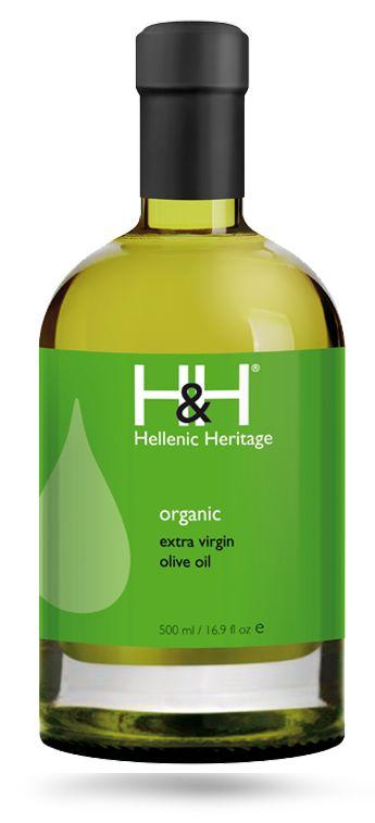 H&H Extra Virgin Olive Oil of Organic Farming