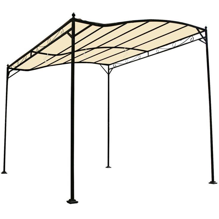 Miadomodo® GRTPV07beige Garden Pavilion Beige approx. 3 x 2.5 x 2.5m (LxWxH): Amazon.co.uk: Garden & Outdoors 62.66