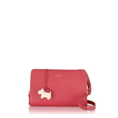 Radley Pink Liverpool Street medium cross body bag | Debenhams