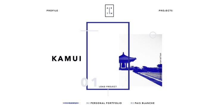 Admir Hadzic Portfolio - Site of the Day November 25 2015