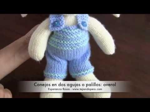 Mejores 11 imágenes de Videos: conejos en dos agujas o palillos en ...