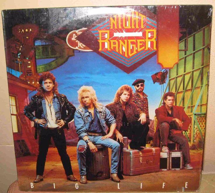Night Ranger – Big Life LP Vinyl Record factory Sealed MCA 1987