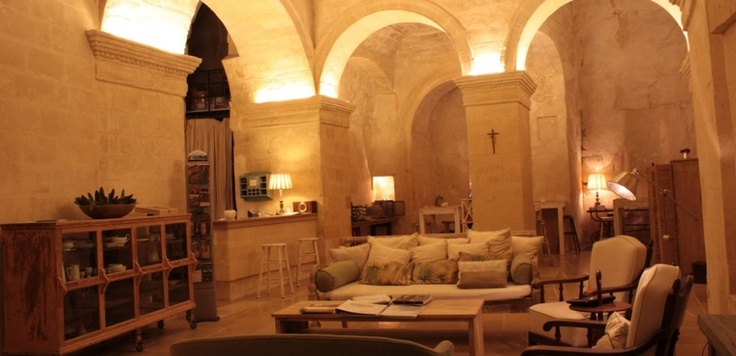 L'Hotel in Pietra ~ Matera, Italy