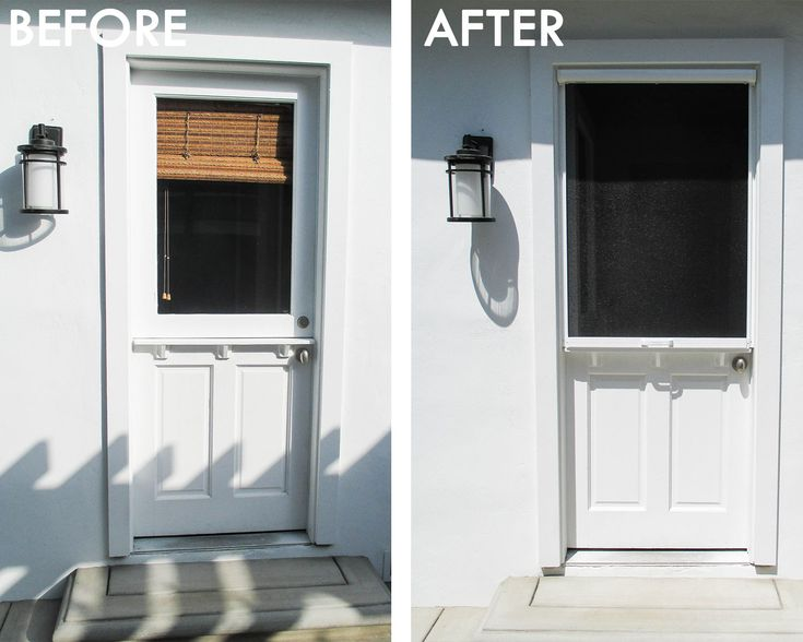 If you have a Dutch door, we have a Retractable Screen for