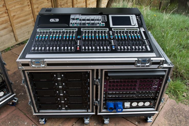 Allen and Heath GLD112 Monitor desk, Lab Gruppen amps and AR2412 & AR8/4 Stage boxes http://limit-audio.com