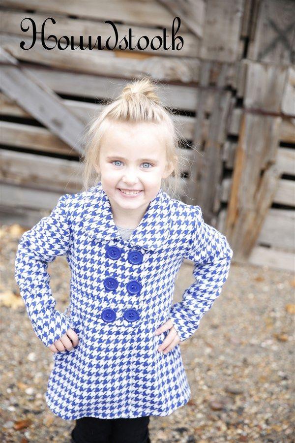 Girl's Pea Coats! 4 Styles! {Jane Deals}