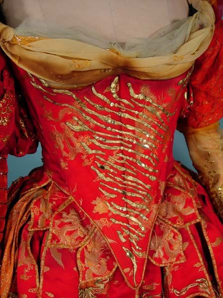 "AUTHENTIC - JUNE ANDERSON Stage Worn Opera Gown in Handel's ""ORLANDO"""