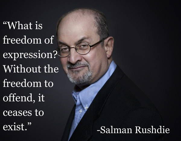 Folio Prize Academy member Salman Rushdie, in The 11 Best Quotes On Censorship.   #censorship http://www.thefolioprize.com/