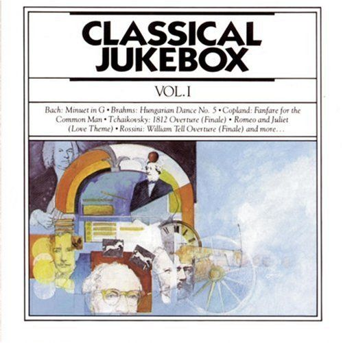 1991 Classical Jukebox, Vol. I (CBS Masterworks) [CBS MLK45736 / 074644573626] cover illustration by Michael Ng #albumcover