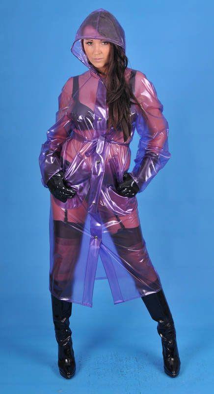 KEMO Cyberfashion Onlineshop für Mode und Regenkleidung aus PVC - Regenmantel PVC