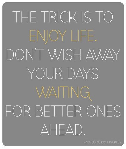 enjoy your life: Words Of Wisdom, The Journey, Life Quotes, Remember This, Dust Wrappers, Life Mottos, Enjoying Life, Inspiration Quotes, Book Jackets
