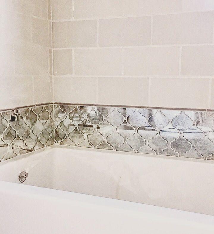 Arabesque Tiles Kitchen Wall: 25+ Best Ideas About Mirror Tiles On Pinterest