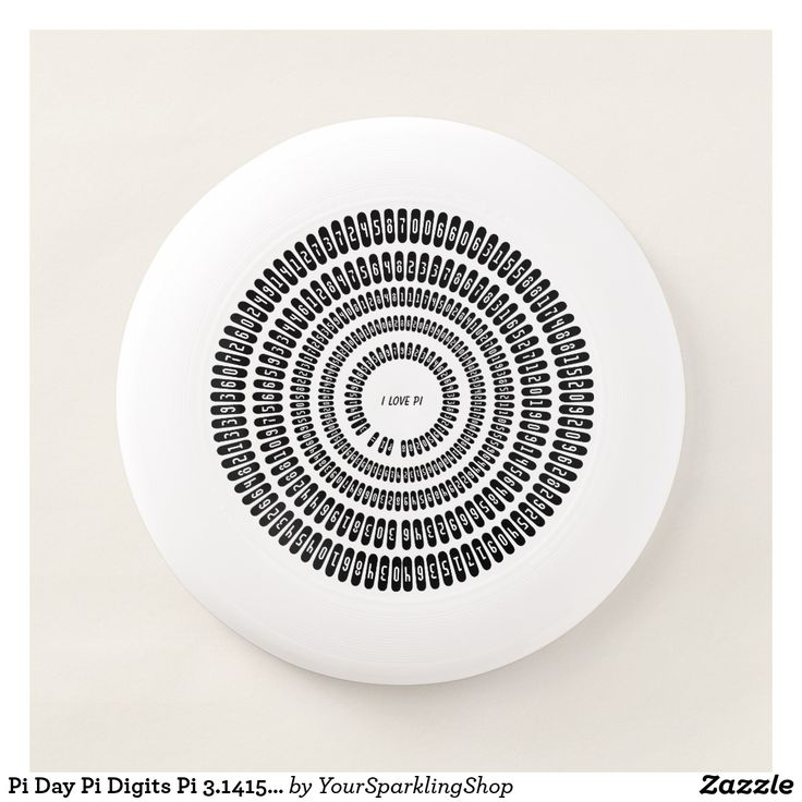 #PiDay Pi Digits Pi 3.14159 Numbers Math Love #Frisbee