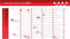 Nuevo calendario laboral para 2017: San José será festivo el día 20 y se cae Santiago Apóstol