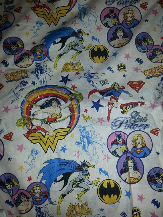 Supergirl Batgirl Amp Wonder Woman 3 Piece Crib By