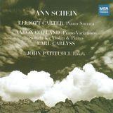 Elliott Carter: Piano Sonata; Aaron Copland: Piano Variations; Sonata for Violin & Piano; John Patitucci: Lakes [CD]