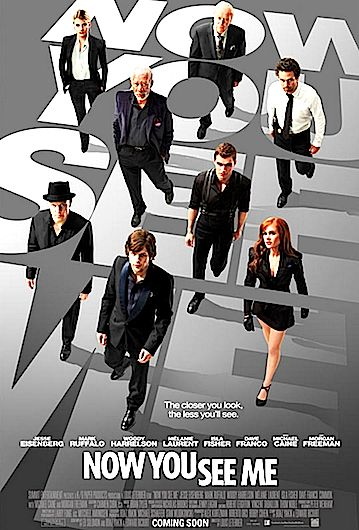 CINEMA: Now You See Me - Official Trailer 2 [HD] (VIDEO)