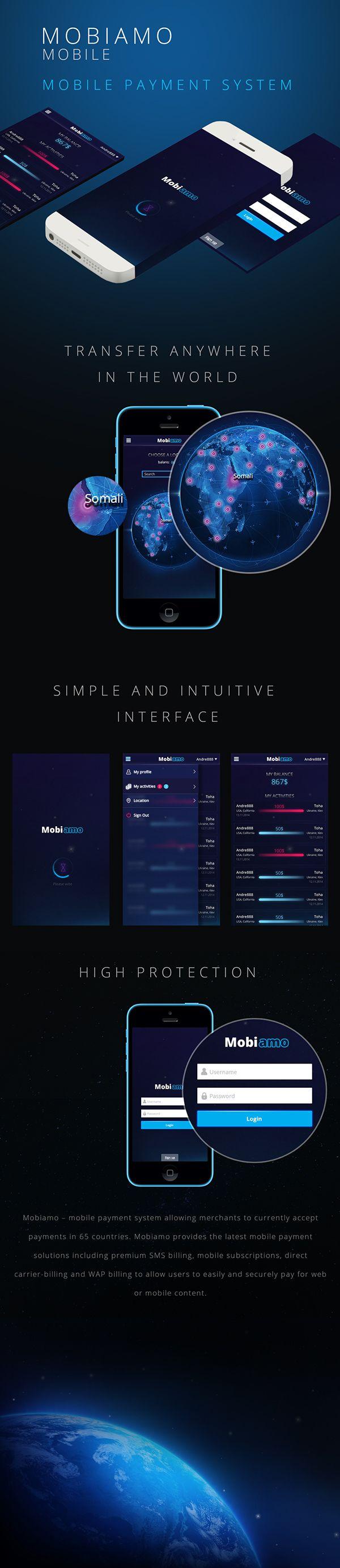 Unique App Design, Mobiamo via @vbrekalo #App #Design