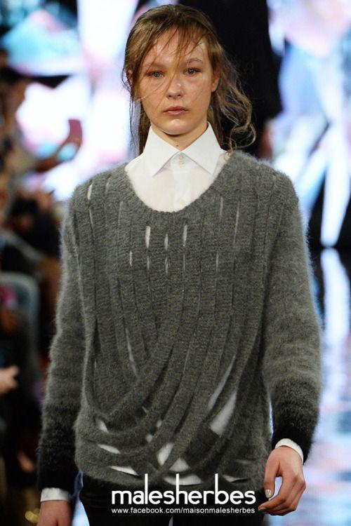 Мезон-Malesherbes: «[Мода] Яджия Джин из Лондонского колледжа моды MA AW2014 LFW плз следовать за нами: https://www.facebook.com/maisonmalesherbes»
