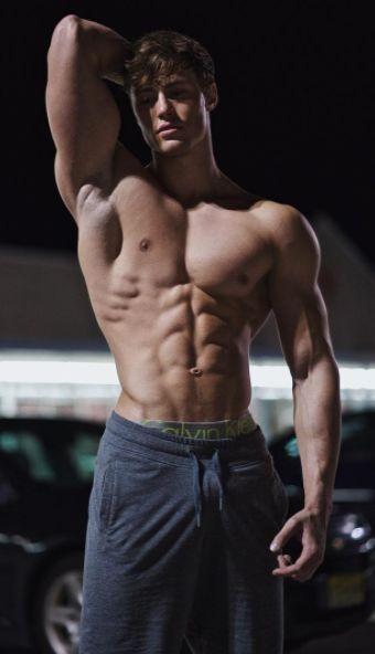 Sexy naked emo guy