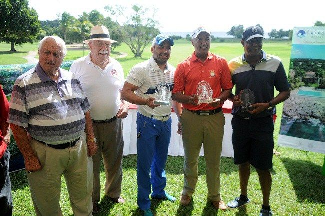 Sosa, Escolástico y González ganan torneo de golf Salón de la Fama Béisbol Latino