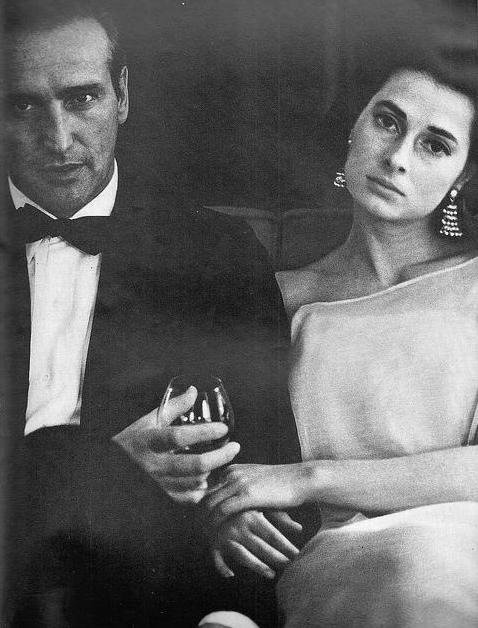 Princess Elizabeth of Yugoslavia(Serbia) and her second husband Howard Oxenberg.She is a mother of Catherine Oxenberg.