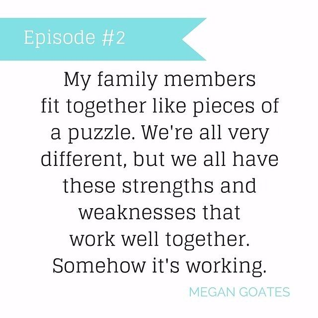 """Listen to the full episode at http://www.bringingupbetty.com/podcast """"Somehow it's working."""" For more of Megan's story listen to episode two. Link in the profile. #bubquotes"""