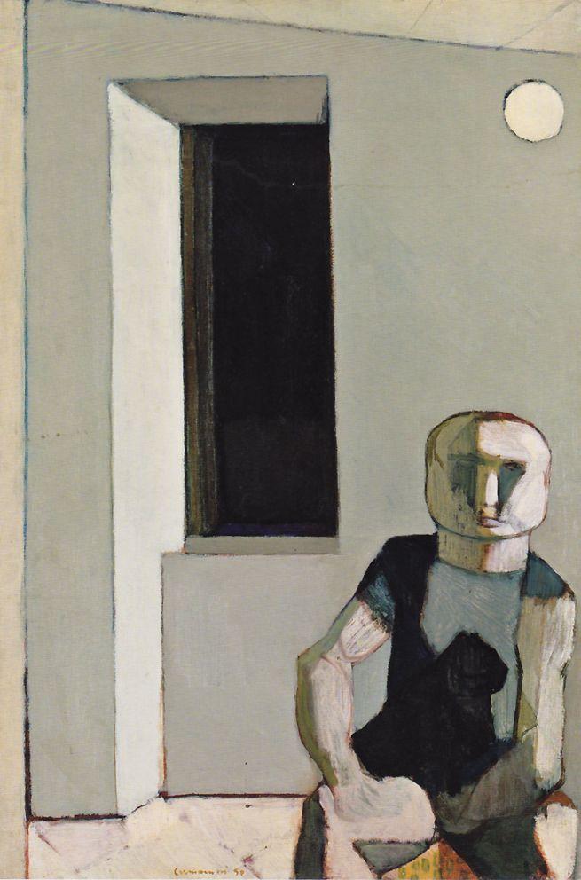 Leonardo Cremonini - interno - 1950
