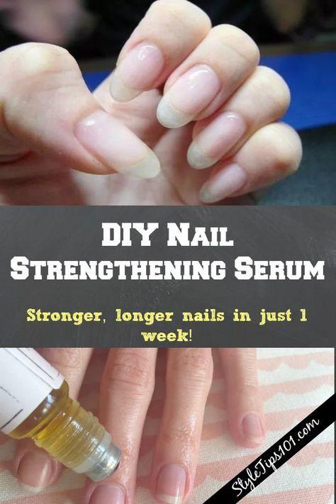 DIY Nagelstärkendes Serum – Nails