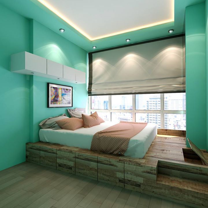 Platform bed with storage home guest pinterest - Best platform beds with storage ...