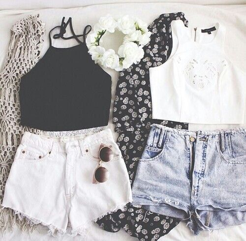 Perfect Bestfriend Outfits! #yin #yang