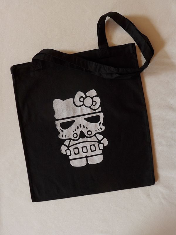 Hello Trooper Cotton Tote via Tribe of E. Click on the image to see more!