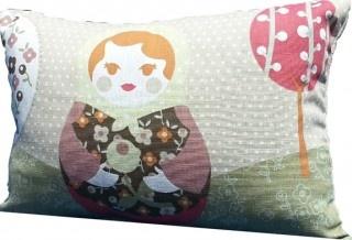 Organic Earth Doll Scatter Cushion