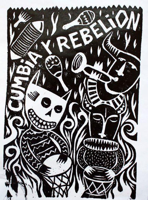 chilambalam:  La cumbia es fiesta, la rebelión también.
