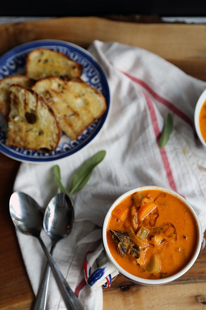 Chunky Vegetable Soup by lynseylovesfood #Soup #Vegetable #Healthy