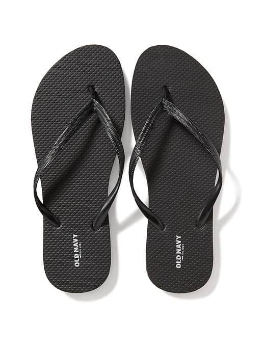 Old Navy Classic Flip Flop in Black. I have 4 pairs in reserve.