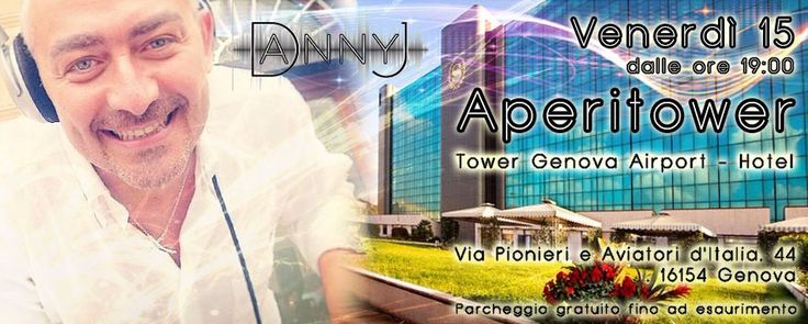 Serata aperitower con DJ