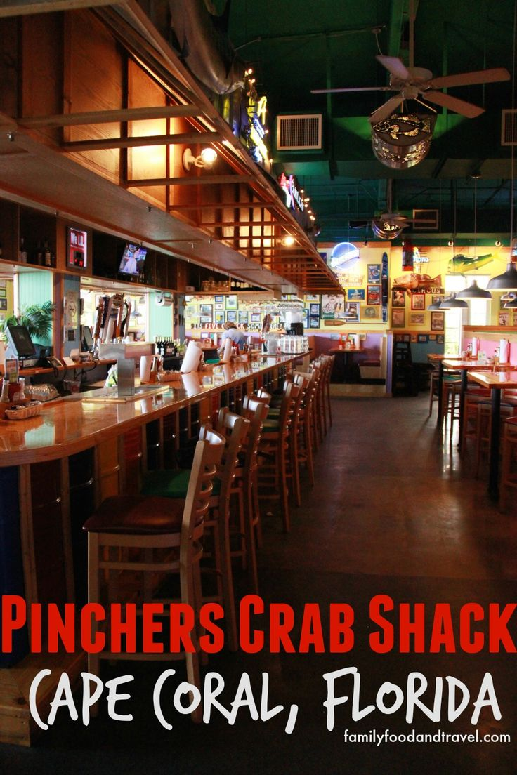 Pinchers Crab Shack Cape Coral Florida - Family Food And Travel