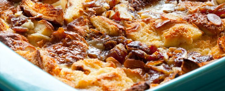 Medjool Date Bread Pudding with Bourbon Sauce- Natural Delights