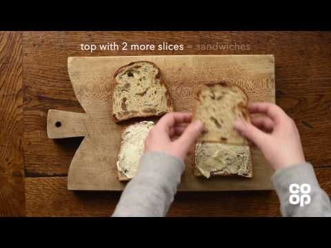Co-op Food | Bread & Brandy Butter Pudding - YouTube