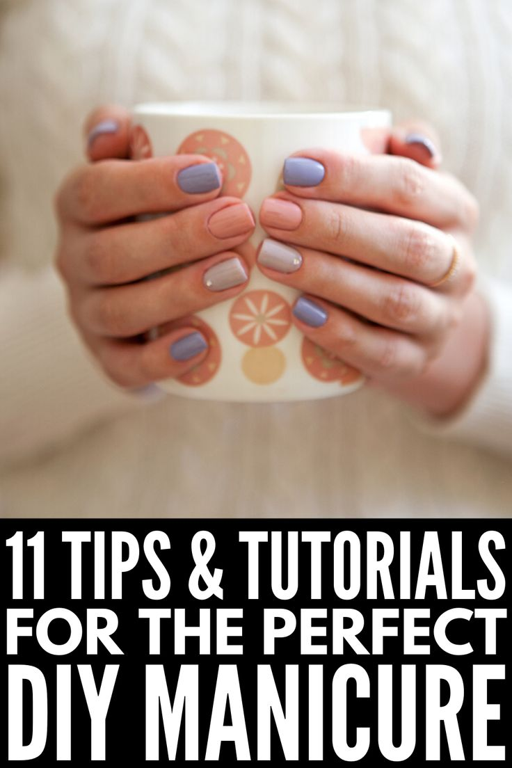 How to Give Yourself a Manicure at Home 5 DIY Manicure