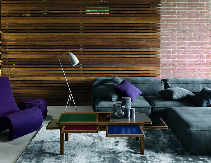 #Hexa declined in the #Deco #Palette. Do you like it? #livingroom #salotto #tavolo #table #table #colors #blue #green #verde #colori #design #designlovers